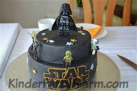 star wars kindergeburtstag torte