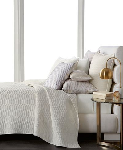 Macys Coverlets by Hotel Collection Agate Pima Cotton Quilted