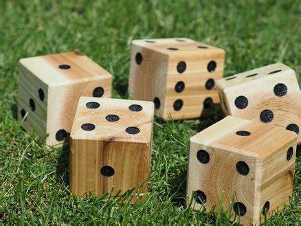 yardzee yard dice outdoor game  diymontreal