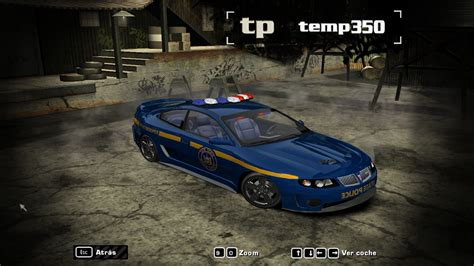 Need for speed no limits: Need For Speed Most Wanted New York State Police paintjob for the Heat 3 Pontiac GTO   NFSCars