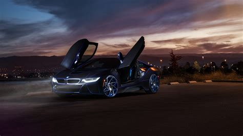Bmw I8 Hybrid Supercar Wallpapers For Desktop 1920x1080