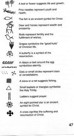 Christian symbols of Easter. I'm hopefully getting a tiny tattoo of one of these! either the