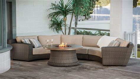 patio sofa furniture curved outdoor sectional patio