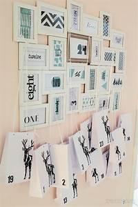 Adventskalender Tüten Depot : adventskalender selber basteln aus bilderrahmen sch n ~ Watch28wear.com Haus und Dekorationen