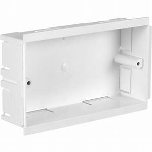 Double Accessory Outlet Box 146 X 86 X 36mm