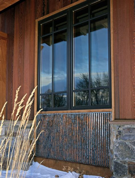 Metal Wainscoting Ideas by Rustic Corrugated Metal With Special Patina By Bridger