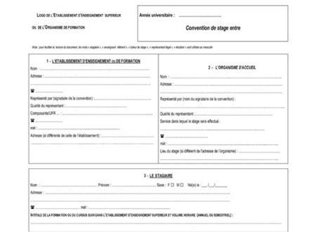bureau banque postale télécharger modele de convention de stage pour