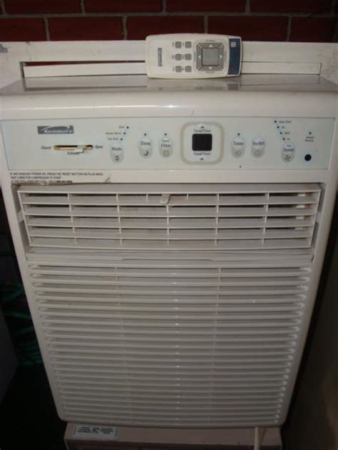 A.C.C Appliances.Kenmore 10000BTU vertical air conditioner