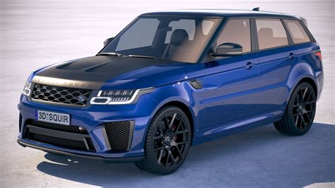 Range Rover Svr 2018 by Range Rover Sport Svr 2018