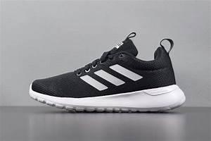 adidas neo lite racer cln running shoes black white b96567