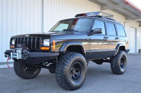 built jeep cherokee find used 1999 jeep cherokee limited 4x4 xj fully built 4