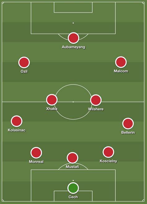 Arsenal XI - StatisticSports