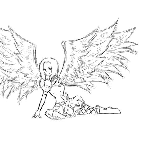 Dark Angel Coloring Pages