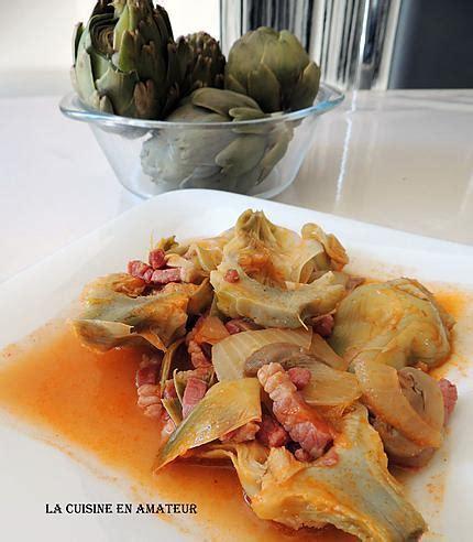 cuisine artichaut cuisson recette d 39 artichaut à la barigoule