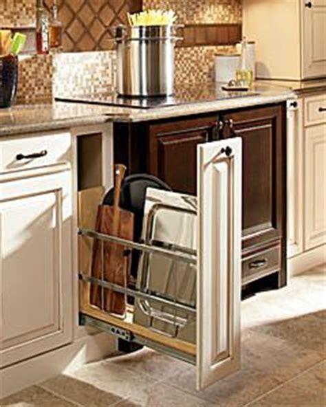 kitchen cabinet cookie sheet organizer trays my scrapbook and pan storage on 7756