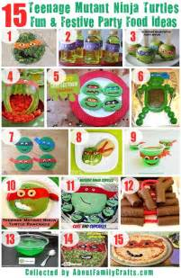 custom invites 75 diy mutant turtles birthday party ideas