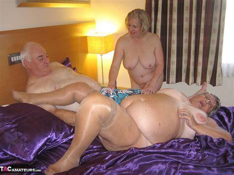 Grandmalibby Libby Trish And Gary Free Pic