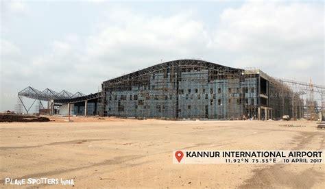 upcoming kannur international airport plane