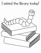 Library Coloring Pages Today Visited Sheets Librarian Activities Skills Google Skill sketch template