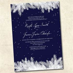 winter wedding invitation navy blue winter wedding With free printable navy blue wedding invitations