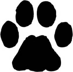 Green Paw Print Clip Cliparts Co