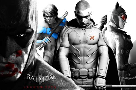 Batman Arkham City Wallpaper 2 By Valanuchiha8214 On