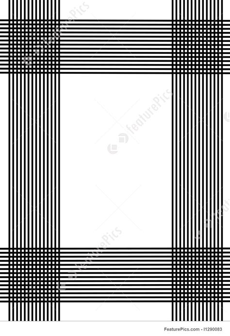 black vertical  horizontal lines stock illustration