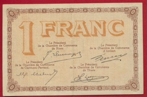 nancy 1 franc 1917 fdcollector