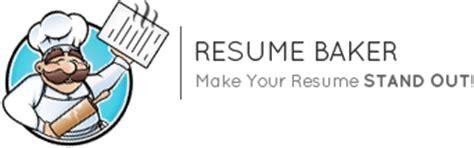 baker cv custom resume design resumebaker com