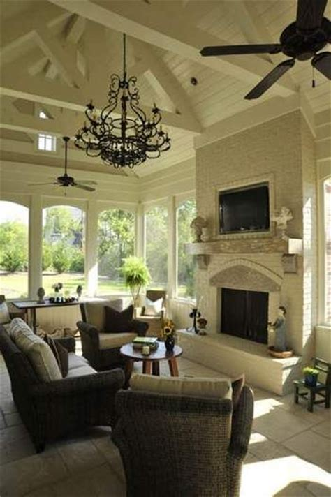 ceiling fan and chandelier in same room best 25 screened porches ideas on covered