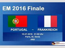 Em Finale Endspiel – Europameister 2016 Fussball EM 2016