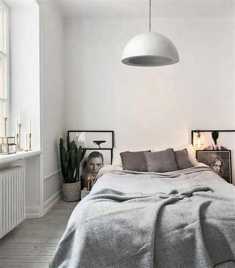 pendelleuchte schlafzimmer schlafzimmer in grau mit wei 223 er deckenleuchte in beton
