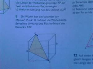 Einheitsvektoren Berechnen : satz des pythagoras in r umlichen figuren erkl ren dreieck im w rfel mathelounge ~ Themetempest.com Abrechnung