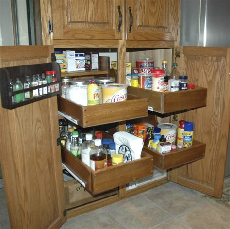 how to make kitchen cabinet pull out shelves ana white pull out cabinet drawers diy projects