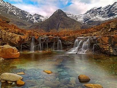 Desktop Backgrounds Fairy Isle Skye Pools Scotland