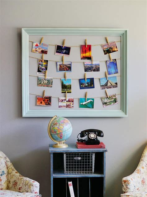 diy postcard display ideas  show