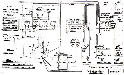 marine electrical wiring diagram wiring diagram with boat wiring diagram schematic soke