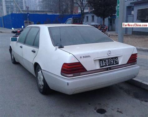 Spotted In China W140 Mercedesbenz S500 L Carnewschinacom
