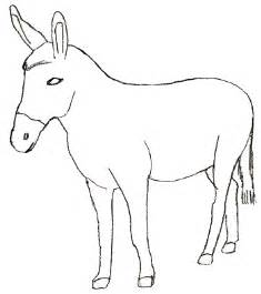 Easy Donkey Drawing
