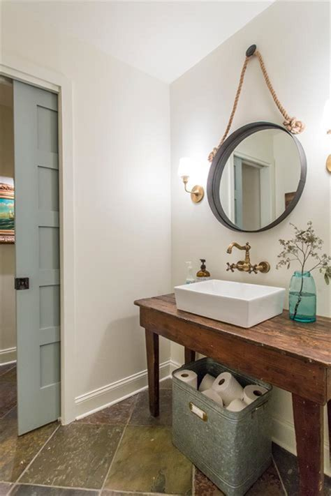 cheap country rustic farmhouse bathroom vanities ideas