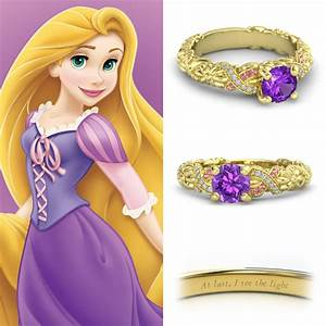 neonscope disney princess engagement rings With rapunzel wedding ring