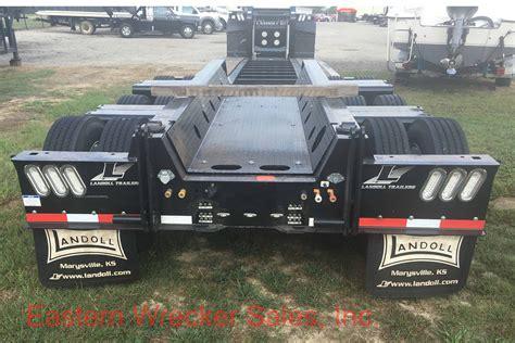 2017 landoll 855e 53 detachable trailer jerr dan landoll new used wreckers carriers