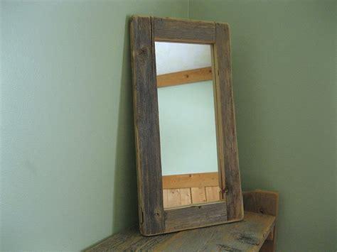 Simple Barnwood Mirror Ideas