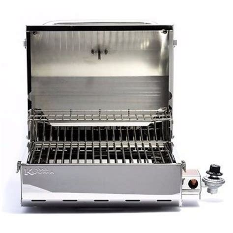 Small Boat Gas Grill by Kuuma 58155 Elite 216 Stainless Steel Gas Grill Bbq