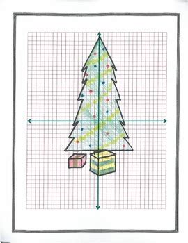 plotting coordinates christmas tree by ds2 teachers