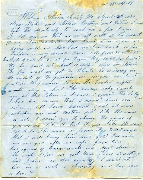 gold rush letters digital collection