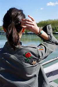 Customised military jacket