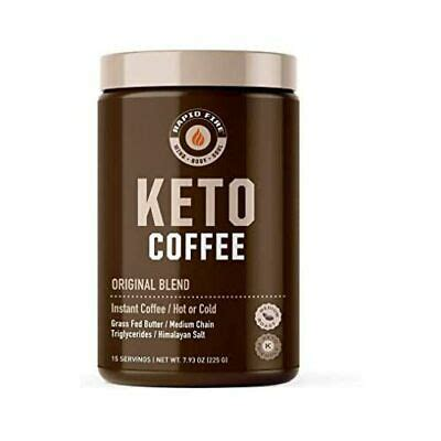 It's gluten free, keto and made with just 6 ingredients! Rapid Fire Ketogenic Fair Trade Instant Keto Coffee Mix, Supports Energy & Met.. | eBay