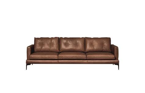 canapé 250 cm 10surdix canapé essentiel 250 l cm cuir marron