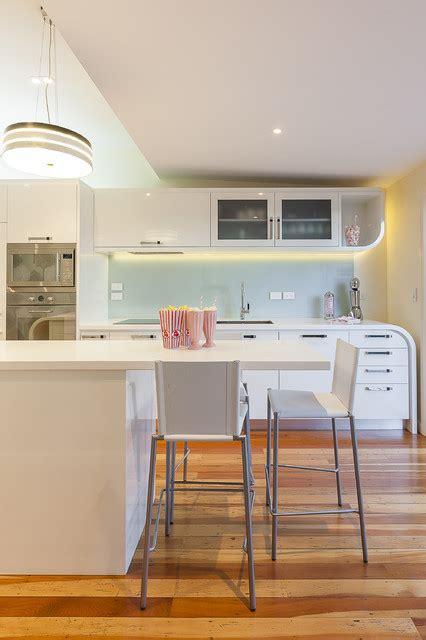 1970's italian tubular chrome coffee table $ 1,650.00. Art Deco Renovation - Contemporary - Kitchen - Auckland - by Mal Corboy Design